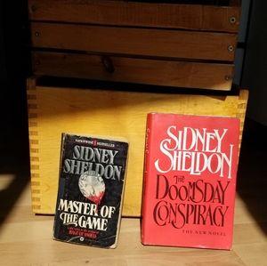 2-Book Bundle set Sidney Sheldon